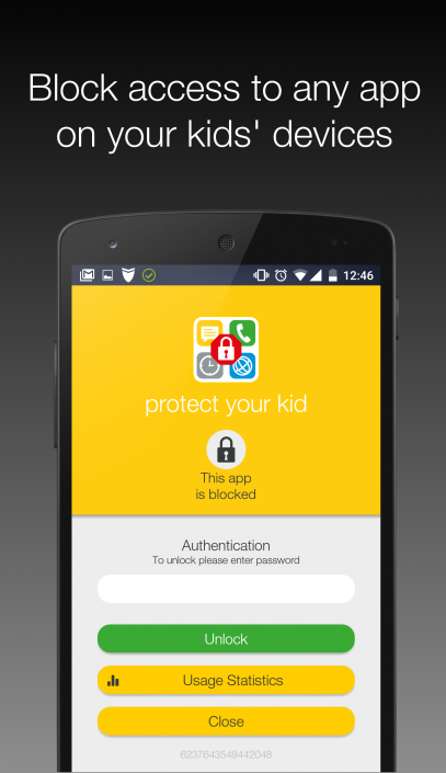 Block access to any app on your kids' devices.